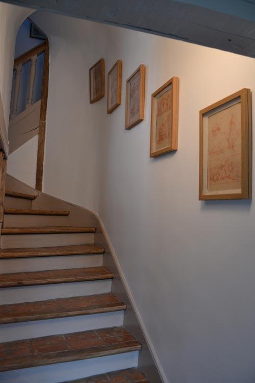 Chambre d h te escalier les hautes sources for Chambre d hote deauville
