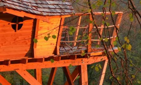 Cabane à Louer - Fin de journée
