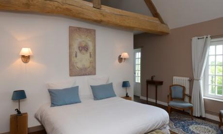 Chambre Bertrand du Guesclin lit