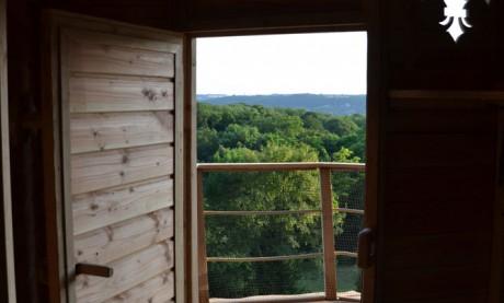 Cabane à Louer - Terrasse