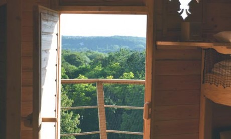 Cabane à louer vue terrasse