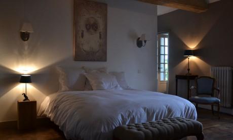 Room Bertrand du Guesclin bed